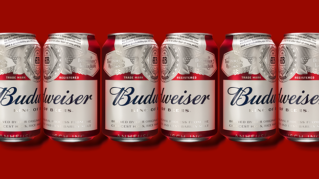 Budweiser Just Updated their Branding - Are they the King of Beers?