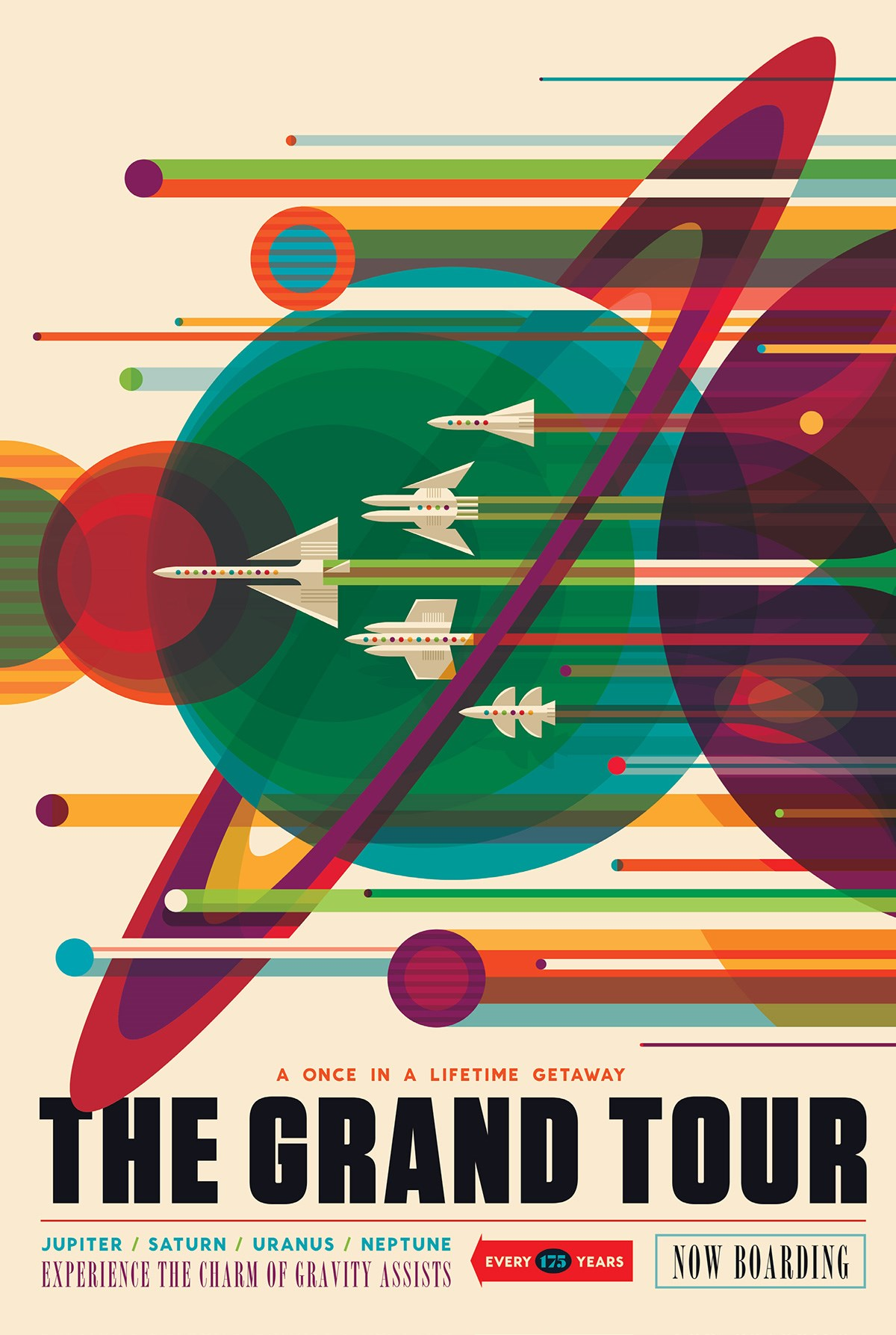Space Tourism is the Next Frontier, So Here Are the Posters