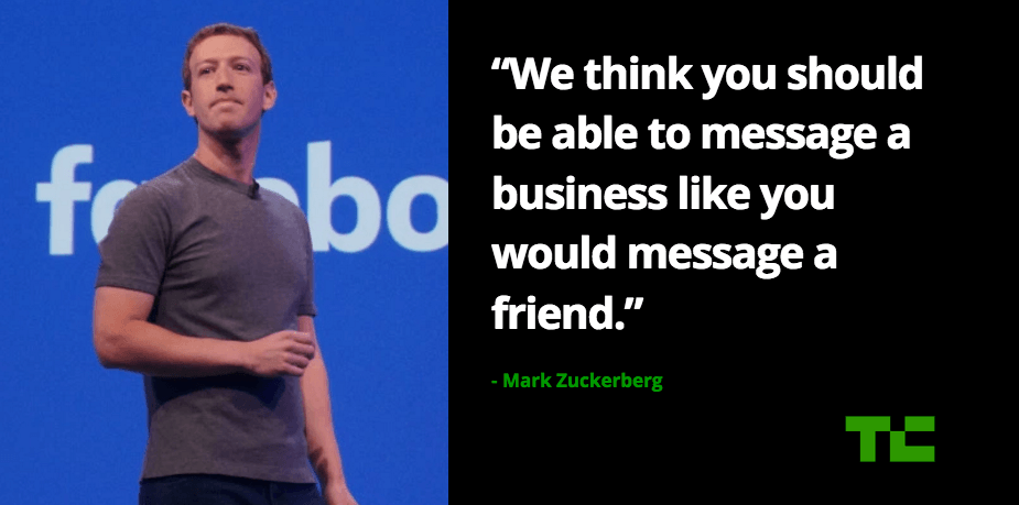 Facebook sends a loud message about Messenger bots, but will we…