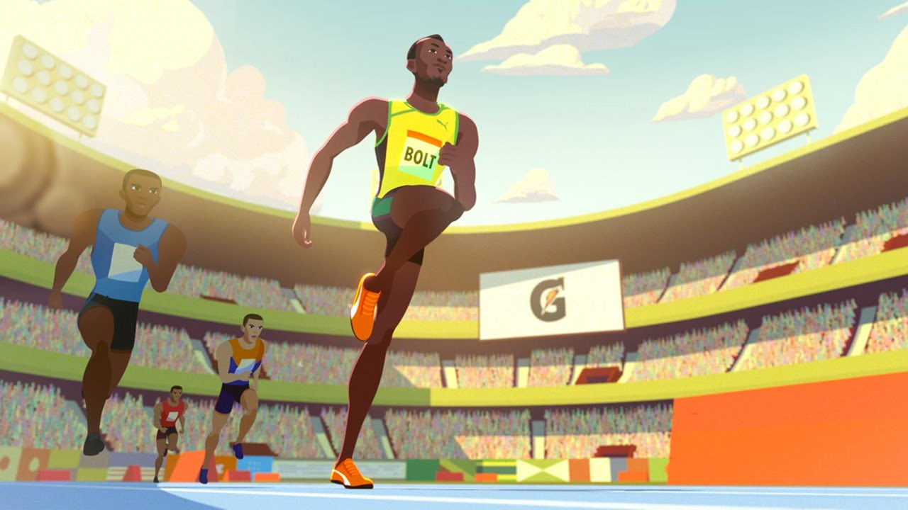 Ad of the Day: The Origin Story of Running Legend Usain Bolt, as Told by Gatorade