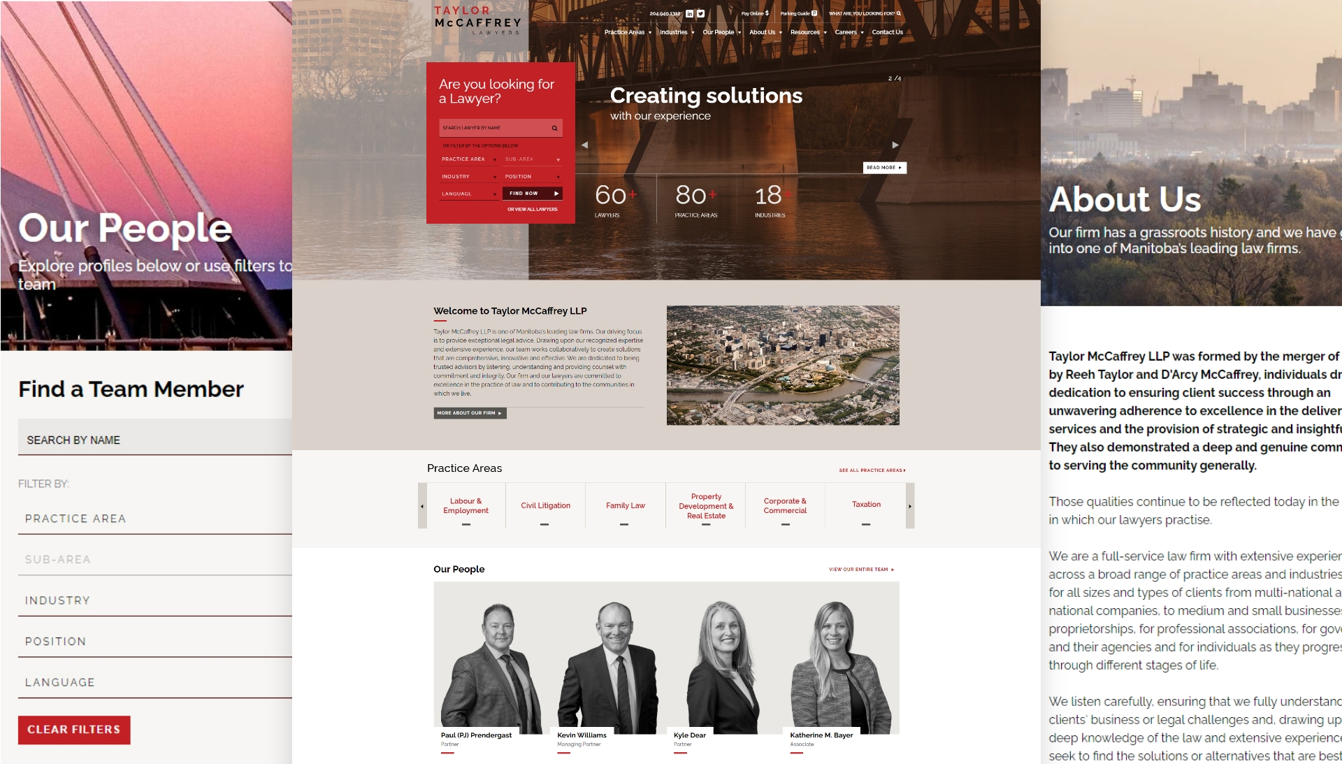 Website pages